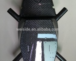 2017 China manufacturer WSD470A OEM Carbon fiber police drone frame/carbon fiber drone body