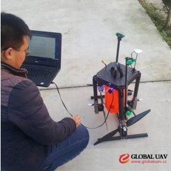 4 axles 6L uav drone agriculture sprayer