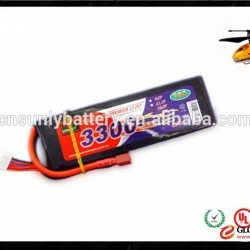 UAV Battery Packs 3300mAh 14.8V 4S 35C Lipo Battery Charger for RC Helicopter Airplane Drones