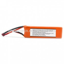 Lithium ion polymer battery pack 11.1V 2200mAh 25C burst rate for UAV, rc helicopter, parrot drone,