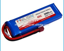 RC Lipo battery 11.1v For RC Plane or Helicopter or FPV 3000mah 45C From China Factory