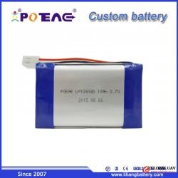 High discharging 10000mah 3.7v 105080 lipo 2s polymer battery cell for power tools GPS UAV