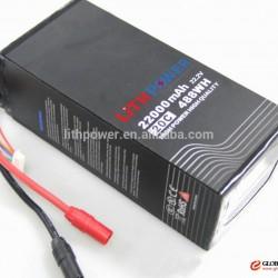 22.2V 15C16000mah RC quadcopter lithium ion DJI UVA battery