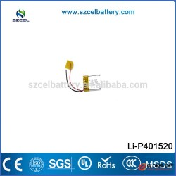 ShenZhen CEL China professional non-pollution Li-polymer Battery for 3D glasses