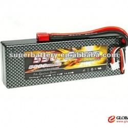Sairi CNL 11.1V 5000mAh 25C MAX 35C 3S JST Plug Lipo Battery for RC Helicopter