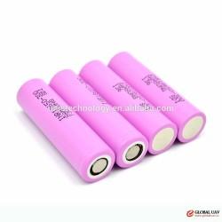 Low price ! Samsung INR18650 30Q 3000mAh 15A 3.6V high drain rechargeable battery VS lg hg2 3000mAh