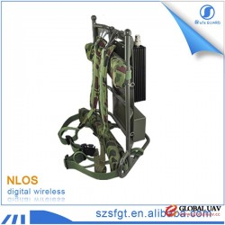 Radio transmitter military backpack audio video convert surveillance equipment