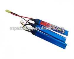 Twins soft packing lipos 15C 1200mah 2S 7.4V for airsoft guns