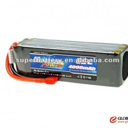RC Buggies 55C high discharge rate 4000mAh 6S 22.2V lithium polymer battery