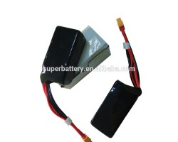 High discharge battery 12.6v rc battery 1300mah 4S1P rc helicopter battery