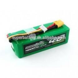 High Capacity 4s 4000MAH Multi Li-polymer pack