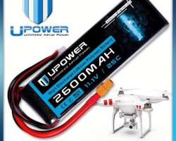 Upower 2200mah 3s1p 800mah 12c 20c lipo li-po rc battery for UAV FPV airplane models