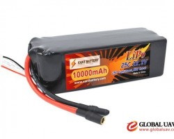 Vant Lipo manufactory Vant high performance 22.2V 10000mAh battery lipo 10000mAh 6S 22.2V 25C lighte