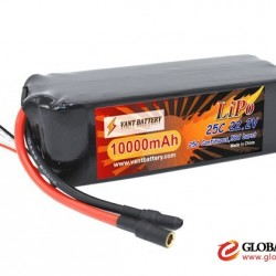 Vant Lipo manufactory Vant high performance 22.2V 10000mAh battery lipo 10000mAh 6S 22.2V 25C lighte