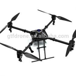 GTF 2017 10KG 10L Agriculture Pesticide UAV Drone/Crop sprayer plant protection GPS mapping pesticid