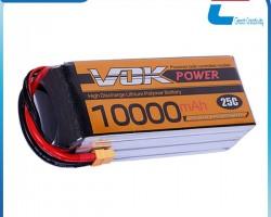 Large Capacity 25C Lipo Battery Cell 3.7V 10000mAh for UAV