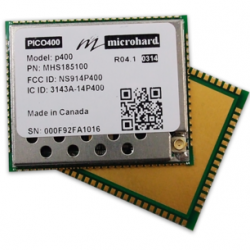 Microhard P400 UAV radio and Multi-Frequency OEM 900MHz & 400 MHz Wireless Modem