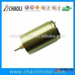 low vibration low noise 12 watt geared motor CL-1625R for Servo system