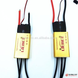 A2-6S 80A brushless speed control with BEC output LIEBER ESC for FPV racing drone & Aircraft