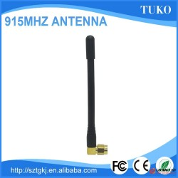 915mhz 3db black rubber duch sma antenna for UAV