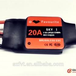FVT 20A ESC for radio mini airplane