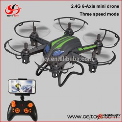2016 Quadcopter Toys 2.4G 6 Axis RC Drone Helicopter Wireless Transmitter & Receiver