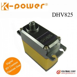 K-power DHV825 20KG High torque UAV Drone Titanium gear rc servo