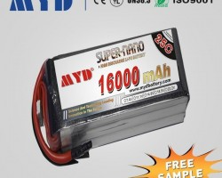 Large UAV Battery Packs 16000mAh 14.8V 4S 25C Lipo Battery Charger for RC Helicopter Airplane Drones