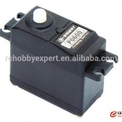 K-Power P0600 6kg analog plastic standard uav/robotservo