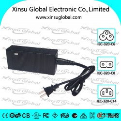 12.6V 3A li ion charger with PSE, UL, cUL, FCC, CE, GS, LVD, SAA, RCM, C-tick.etc