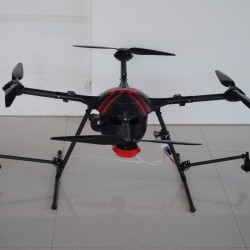 OEM TYX 5kg Quadcopter Agricultural Pesticide Spraying Drone Crop UAV for Plant protection