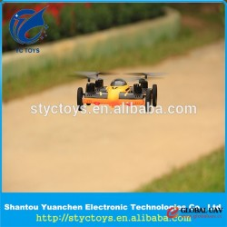 2 in 1 functional rc hobby toys UAV outdoor 2.4G flying car drone