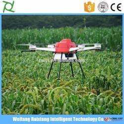 Carbon racing frames agricultural spraying drone professional UAV 10kg