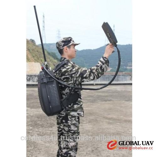 CT-4035-UAV Menpack Directional Drone UAV 107W 5 Bands Jammer up to 1000m