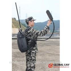 CT-4035H-UAV Menpack Directional Drone UAV 120W Jammer up to 1500m