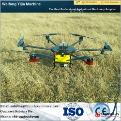 Professional 10L 6 rotor agricultural uav drone sprayer