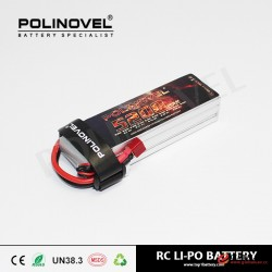 High performance lipo battery 3s 11.1v 5200mah 25c rc model airplane battery for RC drone UAV