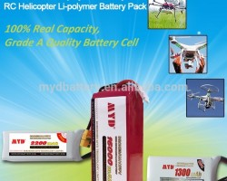 True capacity great power 22.2V 25C 6s lipo battery 16000mah for rc models aircraft quadcopter drone
