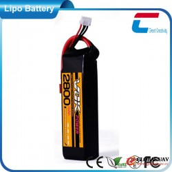 11.1V 3S 2800mAh 20C Cheap Aerial Drones & UAVS RC Lipo Battery Pack