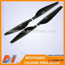 Maytech 26inch folding prop T-motor type Multirotor Carbon Fiber Propeller for Drone Plane UAV