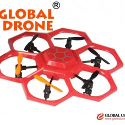 China Direct Toy Factory dropshipper X45 hexacopter UFO drone, X45 UAV 2.4G drone quadcopter