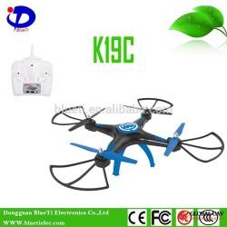 Advanced vehicle toy 2.4G 6-Axis K19C UAV rc camera drone