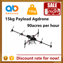 crop sprayer drone ag agriculture aircraft UAV 15kg payload on sale