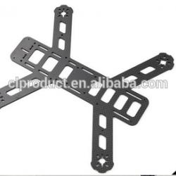 CNC cutting Customized Carbon fiber Quadcopter Frame UAV drone components