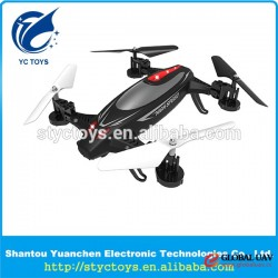 Shantou chenghai toy 2 in 1 functional rc hobby toys UAV outdoor flying car drone quadcopter