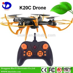 K20C 2.4GHz 4CH 6Axis Height keeping UAV rc toy quadcopter drone with camera