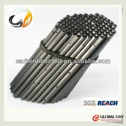Dongguaan Factory supply 3k round carbon fiber tubes for UAV drone RC Plane