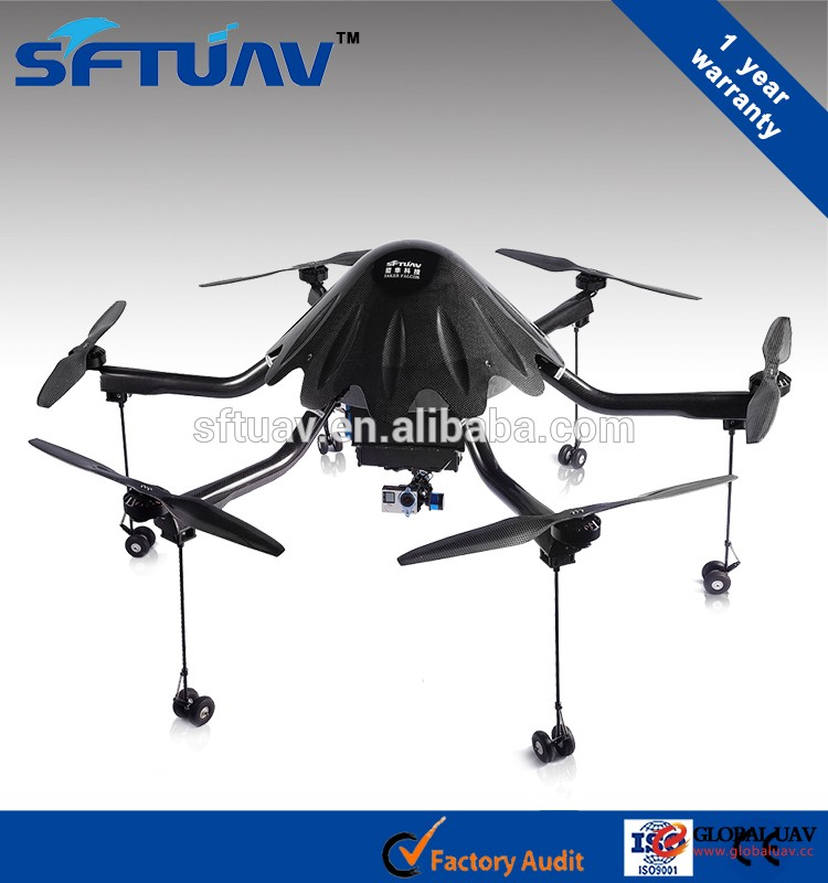 electric UAV for Power line Patrol OctoCopter drones