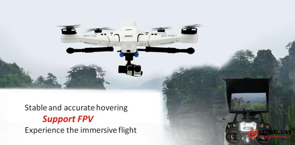 Airdog Style Professio<em></em>nal Drone with Payload Capacity for Aerial Photography, Survey Mapping, Business