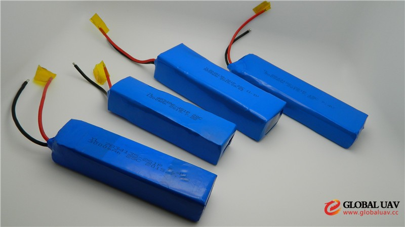 china supplier uav drone 5000mah 11.1v polymer lithium battery